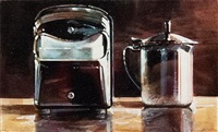 napkin box and creamer by ralph goings