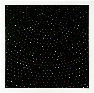 sphere black by takashi murakami