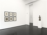 installation view / installationsansicht von wilhelm lehmbruck – scupltures and etchings / skulpturen und radierungen by wilhelm lehmbruck