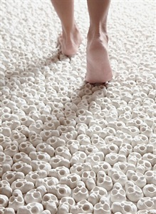what will you leave behind? installation by nino sarabutra