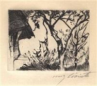 hausecke by lovis corinth