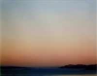 golden gate bridge, 6.15.98, 5:48 am by richard misrach