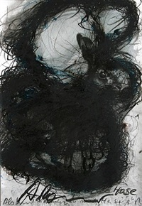 als kind nannten sie mich hase (as a child, they used to call me rabbit) by arnulf rainer