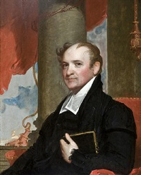 portrait of reverend john thornton kirkland by gilbert stuart