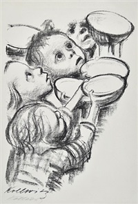 germany's children are starving by käthe kollwitz