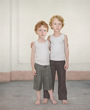 hugo and dylan 1 by loretta lux