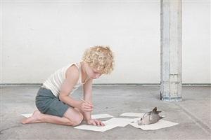 the dove by loretta lux