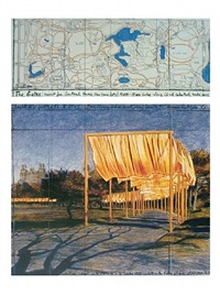 the gates: project for central park, new york city (iii) by christo and jeanne-claude