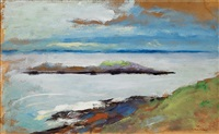 the sea (monhegan island, july 1903) by robert henri