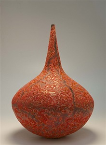 large bottle (orange) by jay kvapil
