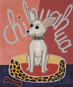 the chihuahua dog by jacqueline ditt