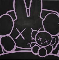 miffy and baby by kaws