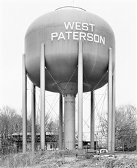 water tower, west paterson, new jersey, u.s.a. by bernd and hilla becher
