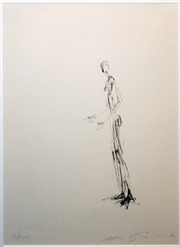 man standing (homme debout) by alberto giacometti