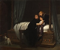 les enfants d'edouard (edward v and the duke of york in the tower) by paul hippolyte delaroche