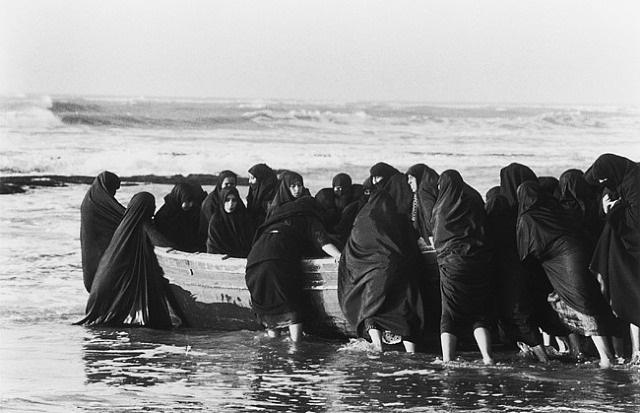 untitled (rapture) by shirin neshat