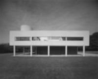 villa savoye - le corbusier by hiroshi sugimoto