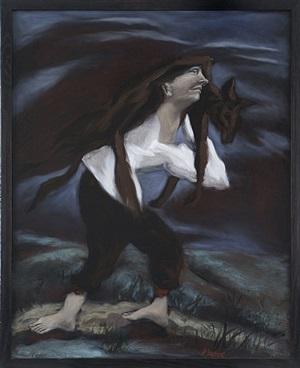 l'homme au loup by gérard garouste