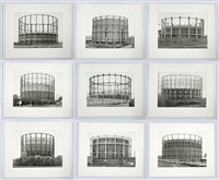 gas tanks - 01000 by bernd and hilla becher