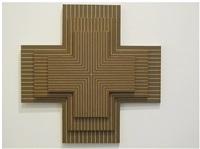 frank stella, 'ouray,' 1961, three times by richard pettibone