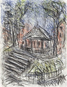 leon kossoff london landscapes by leon kossoff