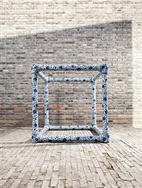 porcelain cube by ai weiwei