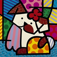 valley dog by romero britto
