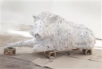 boar (laying) by carl emanuel wolff