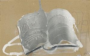 livre ouvert by antoni tàpies