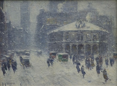 at herald square by guy carleton wiggins