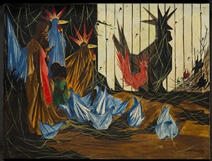 nativity by jacob lawrence