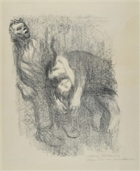 death in the water by käthe kollwitz