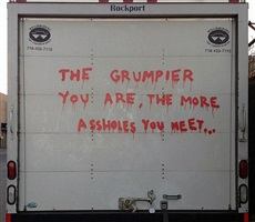 alternative new york bumper slogan by banksy