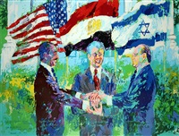 white house signing by leroy neiman