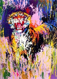 bengal tiger by leroy neiman