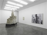 'inside the white cube', 9x9x9 and north gallery, white cube bermondsey, london by liu wei