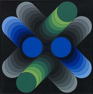 abstrakt by victor vasarely