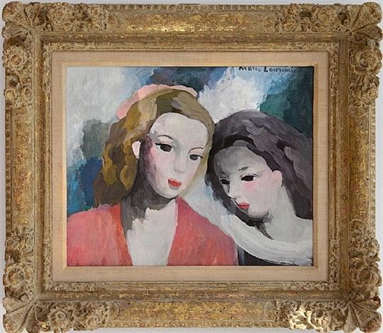 deux femmes by marie laurencin