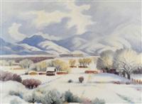 country scene by gene kloss