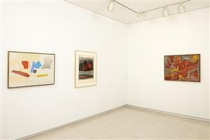 exhibition view by esteban vicente