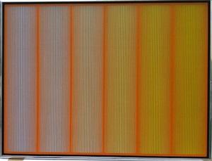 orange family by richard anuszkiewicz