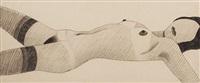 stocking nude by tom wesselmann