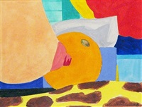 study for bedroom painting #6 by tom wesselmann