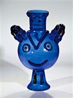 blue vase by pablo picasso