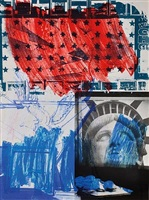 people for the american way by robert rauschenberg