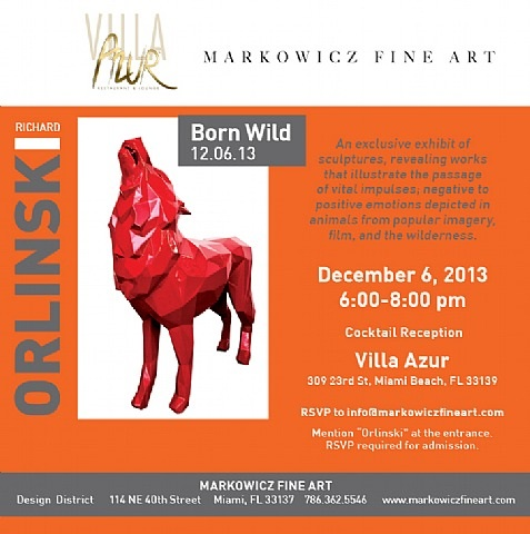 born wild by richard orlinski