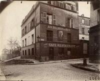 montmartre, cabaret, rue st. rustique by eugène atget