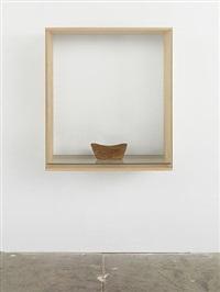 untitled (chinese headrest) by haim steinbach