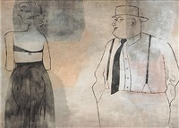 suzanna and the elders by ben shahn