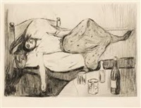 dagen derpå (the day after) by edvard munch